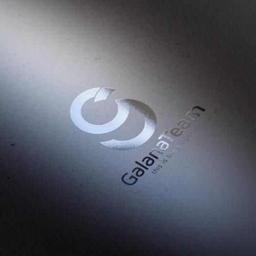 Logo Buchstabe G Orange