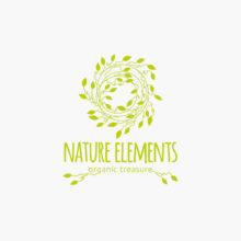 FirmenLogo Natur Elemente Nest