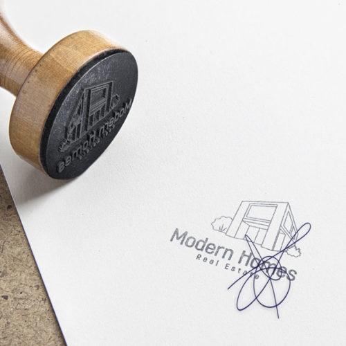 Logo Immobilien Makler fertiges Logo kaufen