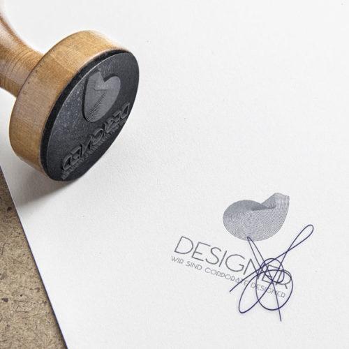 Logo kreativer Buchstabe D kreatives Logo kaufen