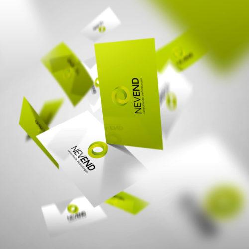Geometrisches 3D Logo Kreis Verbindungen | Cooles Logo kaufen | LogoAtelier