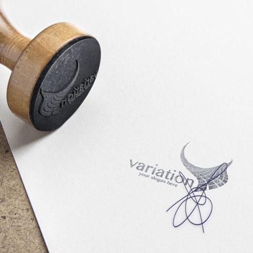 Logo Schwankung Beweglich Leicht Premium Logo kaufen Logo Shop