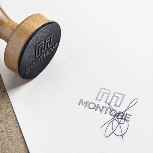 Buchstaben Logos | Logo Buchstabe M | Elegantes Logo kaufen | LogoAtelier.eu