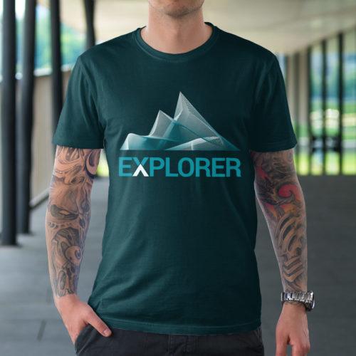 Logo Berge Klettern Entdecken | EXKLUSIVES Logo kaufen | LogoAtelier