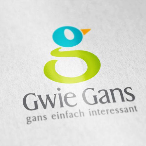 Logo Buchstabe G Gans Tier Logo kaufen   LogoAtelier.eu