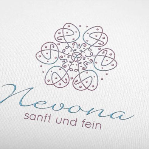 Logo Sanft Fein Leicht Esoterik Wellness | EXKLUSIVES Logo kaufen | LogoAtelier.eu