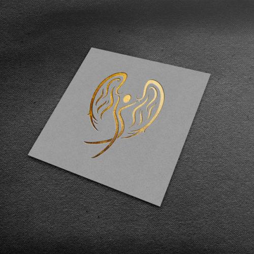 Engel Logo Schutz Esoterik Religion Fertiges Logo kaufen Logoshop LogoAtelier.eu