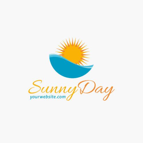 Logo Urlaub Sonne Wasser Cooles Logo kaufen LogoShop LogoAtelier.eu