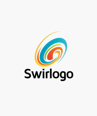 Logo Wirbel Strudel Bunt Frisch Bewegung Cooles Logo kaufen LogoAtelier.eu