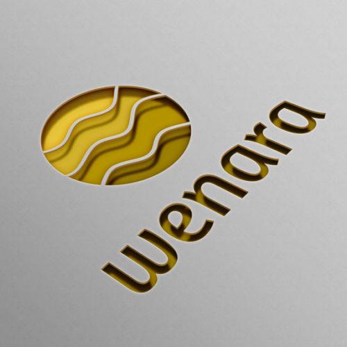 Logo Felder Welle Entspannung Bauernhof Simples Logo kaufen LogoShop LogoAtelier.eu