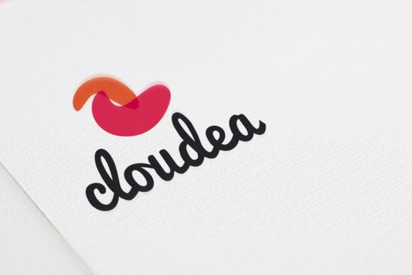 Logo Form Wolke Fruchtig Frisches Logo kaufen LogoShop LogoAtelier.eu