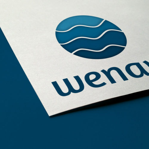 Logo Wasser Welle Urlaub Hotel Simples Logo kaufen Logoshop LogoAtelier.eu