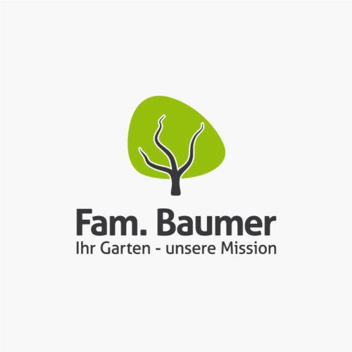 Logo Baum Garten Kraftvoll Fertiges Logo kaufen LogoShop LogoAtelier.eu
