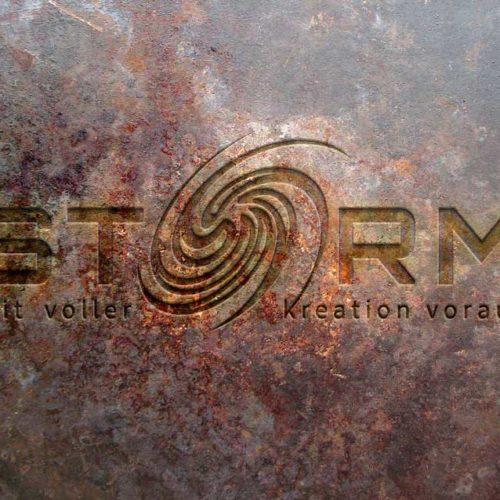 Logo Wirbelsturm Kreationen Kraftvoll Sturm Fertiges Logo kaufen LogoShop LogoAtelier