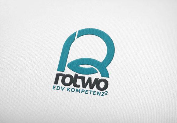 Logo Buchstabe R Zahl 2 Simples Logo exklusiv kaufen LogoShop LogoAtelier