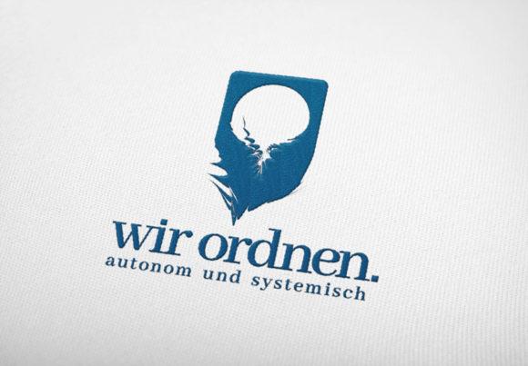 Logo Ordnung Chaos Automatisch System Fertiges Logo kaufen LogoShop LogoAtelier