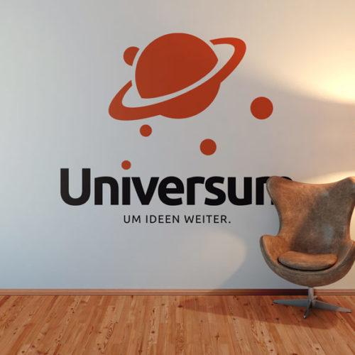 Logo Planeten Universum Weltall Weite Monde Vielfalt Cooles Logo kaufen LogoShop LogoAtelier