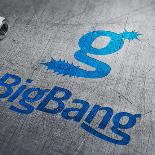 Logo kaufen Buchstabe G Knall Effekt Jung Dynamisch Sterne BigBang Sensation Wow LogoShop Cooles Logo kaufen LogoAtelier