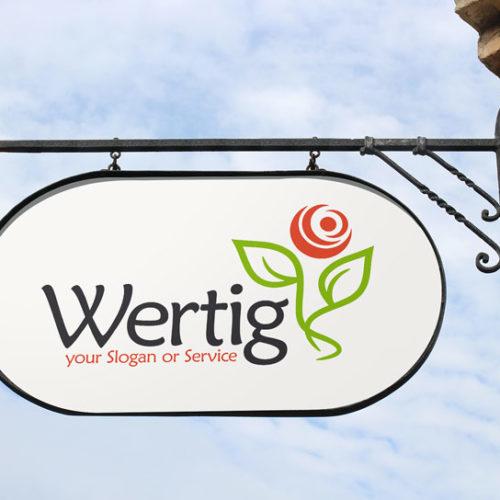 Natur Logo Hochwertiges Logo kaufen Exklusives Logo kaufen Pflanzen Blumen Simple Umweltschutz Wachstum Vegan Sinnvolles Logo LogoShop LogoAtelier.eu