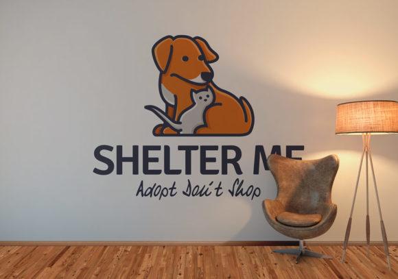 Logo Hund Katze Tierschutz EXKLUSIVES Logo kaufen Fertiges Logo kaufen LogoShop LogoAtelier Vereinslogo Verein Gemeinschaft