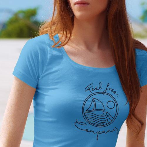 Logo Freiheit Meer Gezeichnet Freisein Urlaub Spirituelles Segeln Sport Sonne Wind Wasser Fertiges Logo kaufen EXKLUSIVES Logo kaufen LogoAtelier.eu